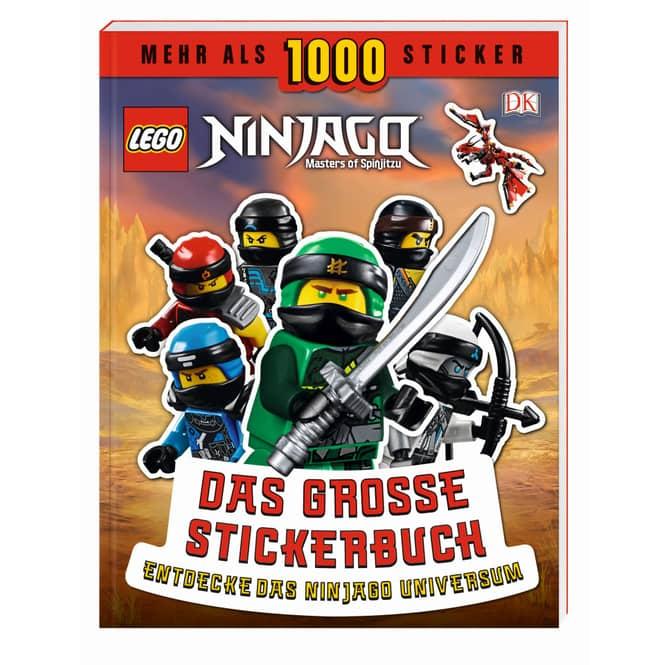 LEGO® NINJAGO® - Das große Stickerbuch