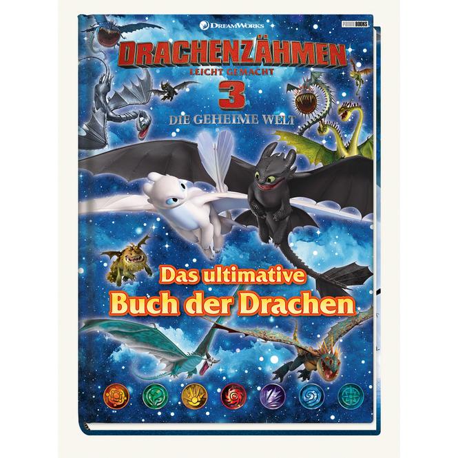 Drachenzähmen leicht gemacht 3 - Die geheime Welt - Das ultimative Buch der Drachen