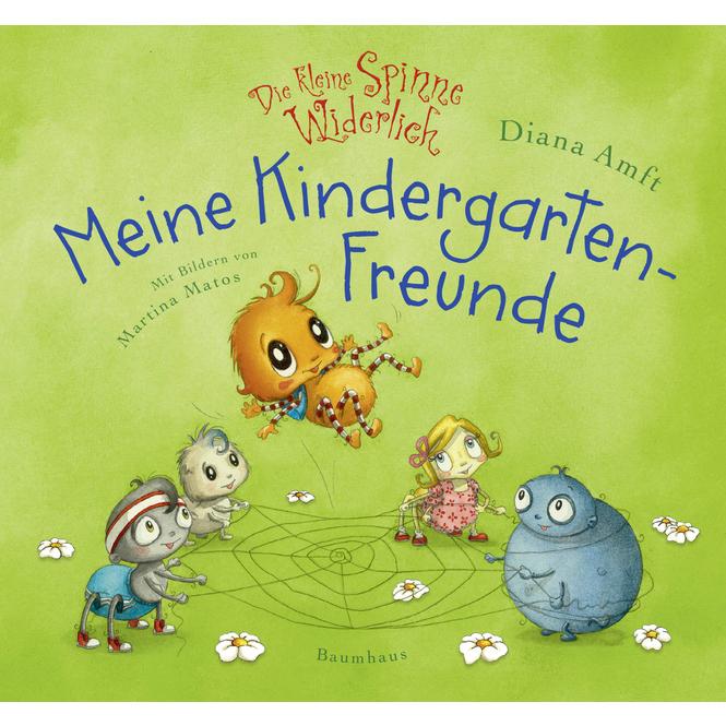 Meine Kindergartenfreunde - Die kleine Spinne Widerlich