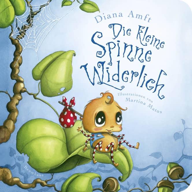 Die kleine Spinne Widerlich - Pappbilderbuch - Band 1