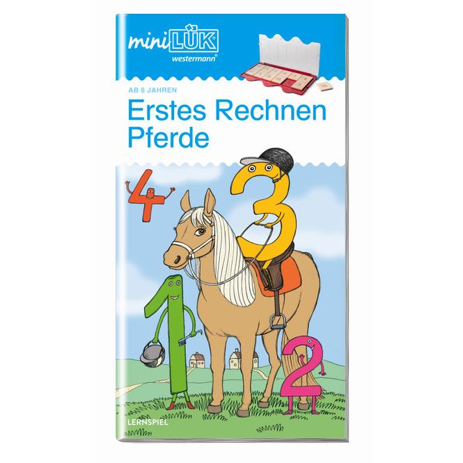 mini LÜK - Erstes Rechnen - Pferde - Heft