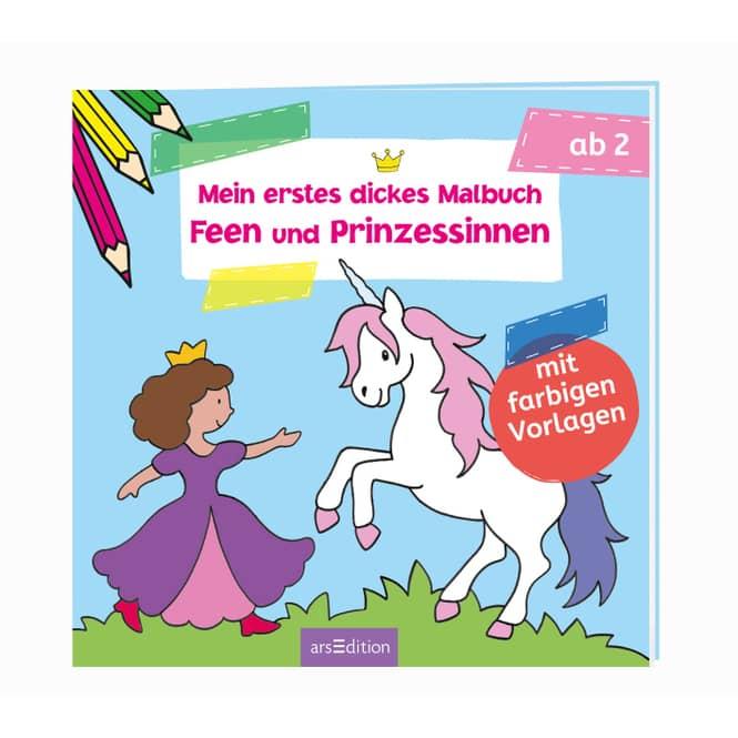 Mein erstes dickes Malbuch - Feen und Prinzessinnen - Ich kann schon malen!