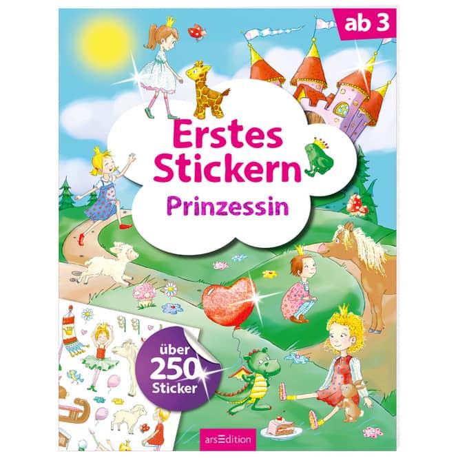 Erstes Stickern - Prinzessin