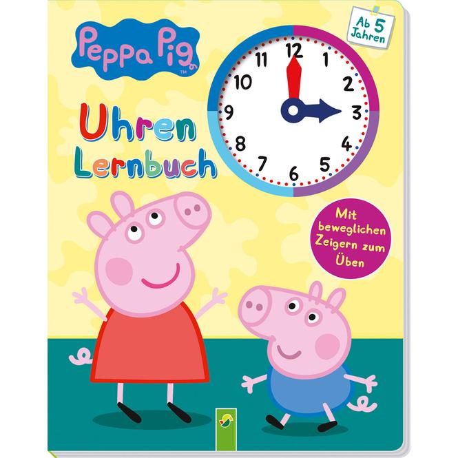 Peppa Pig - Uhrenlernbuch