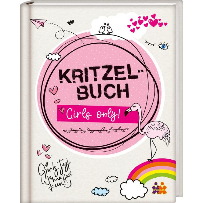 Kritzelbuch - Girls only!