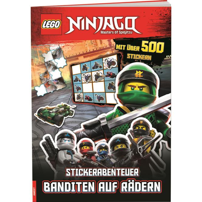 Lego Ninjago - Stickerabenteuer - Banditen auf Rädern