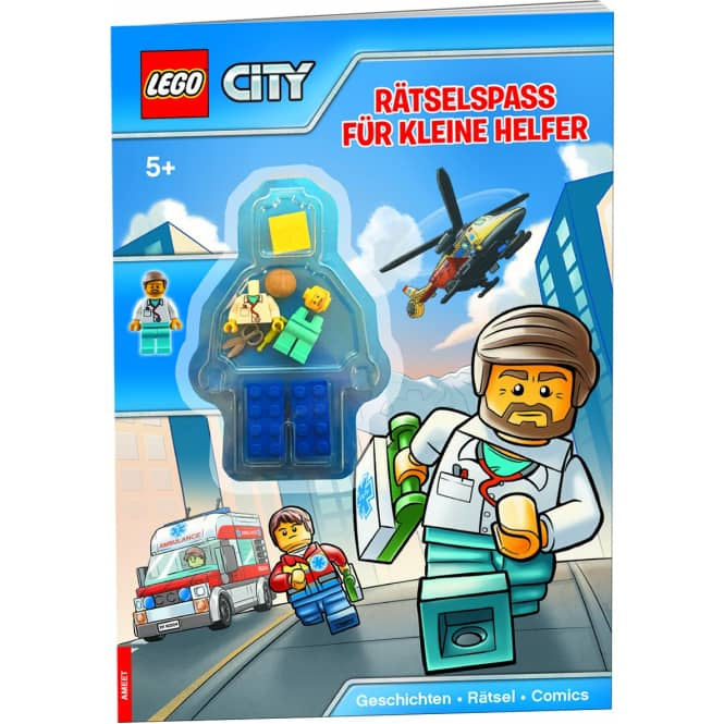 LEGO® CITY® - Rätselspaß für kleine Helfer