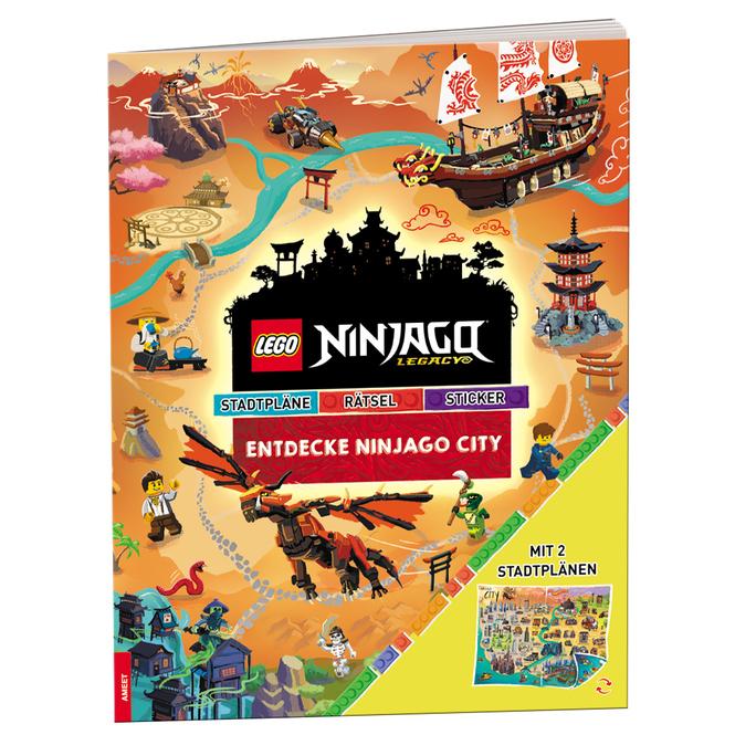 LEGO® NINJAGO® -  Legacy® - Entdecke Ninjago City