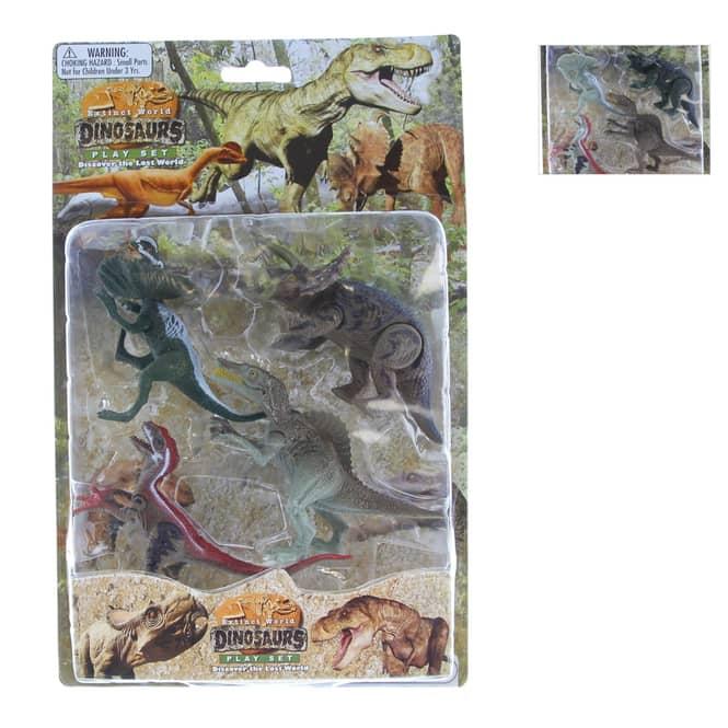 Besttoy - Dinosaurier Spielset - 4 Figuren