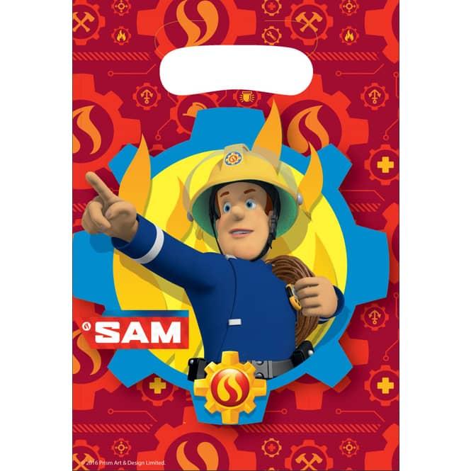 8 Partytüten - Feuerwehrmann Sam