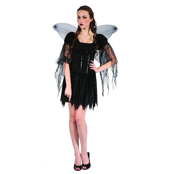 Böse Fee - Kostüm für Erwachsene - in drei Größen erhältlich