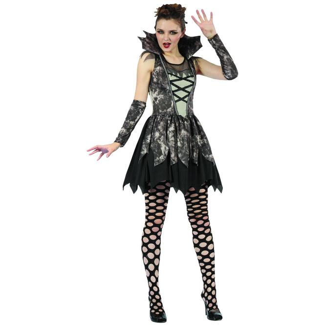 Vampirdame - Kostüm für Erwachsene - in drei Größen erhältlich
