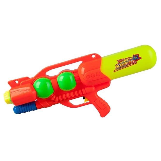 Wasserpistole mit Doppelschuss - 52x22x7 cm - 1 Stück