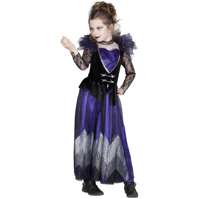 Kostüm - Böse Königin - für Kinder - 2-teilig - verschiedene Größen