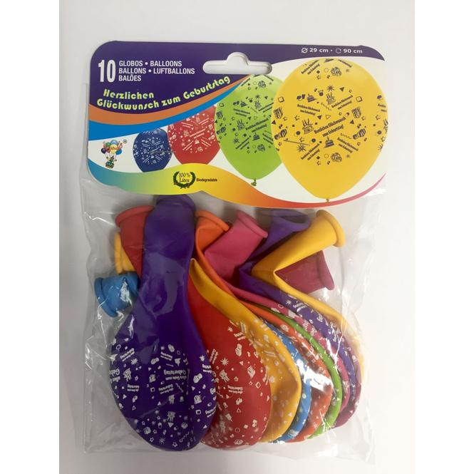 10 Luftballons - Happy Birthday
