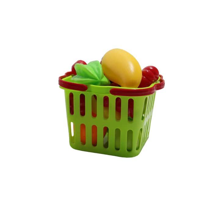 Einkaufskorb mit Früchten - 20-teilig