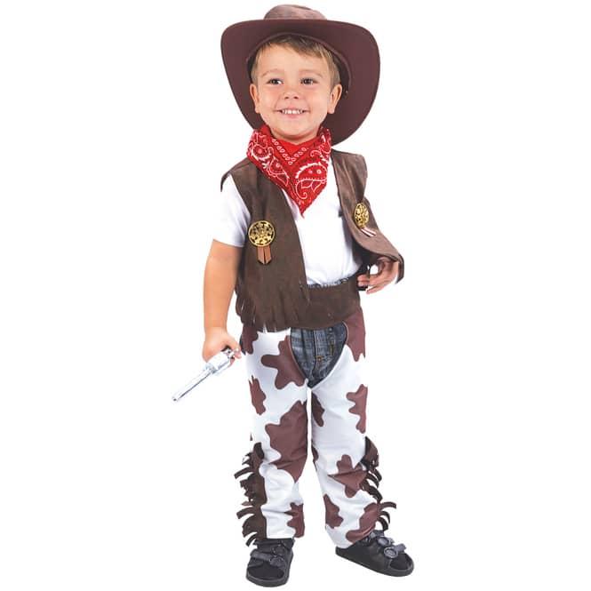 Kostüm - Kleiner Cowboy - für Kinder - 3-teilig - Größe 98/104