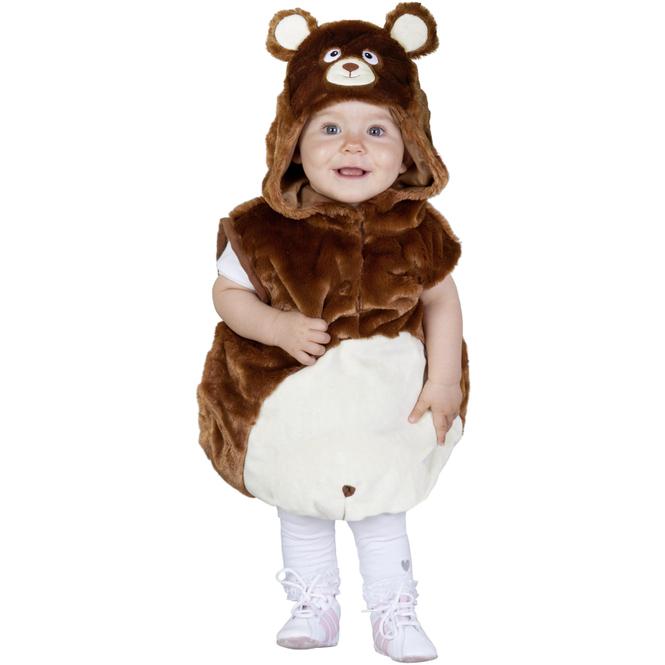Kostüm - Plüschbär - für Kinder - verschiedene Größen