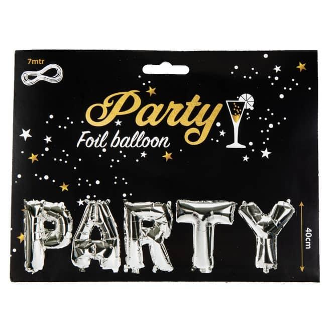 Folienballon-Set - Party - ca. 40 cm