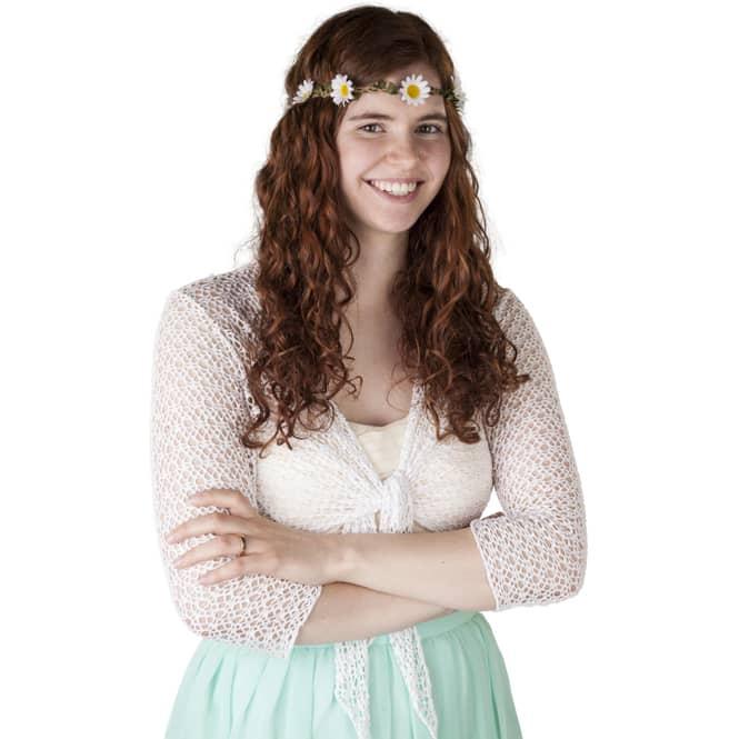 Stirnband für Erwachsene - Gänseblümchen