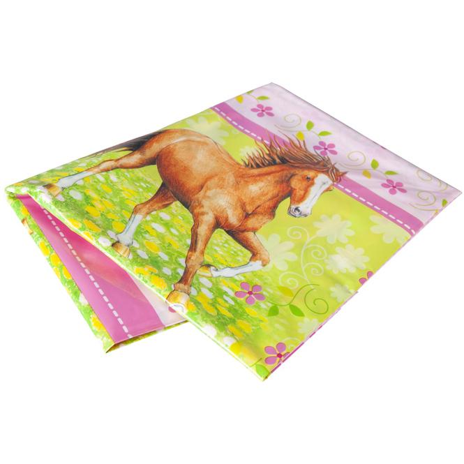 Tischdecke Pferde, 180x120cm