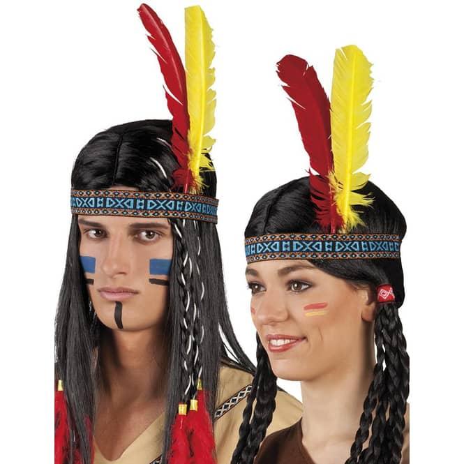 Stirnband - Indianer - für Erwachsene