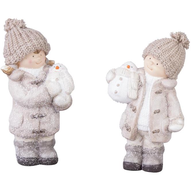 Winterkind - aus Terrakotta - verschiedene Designs