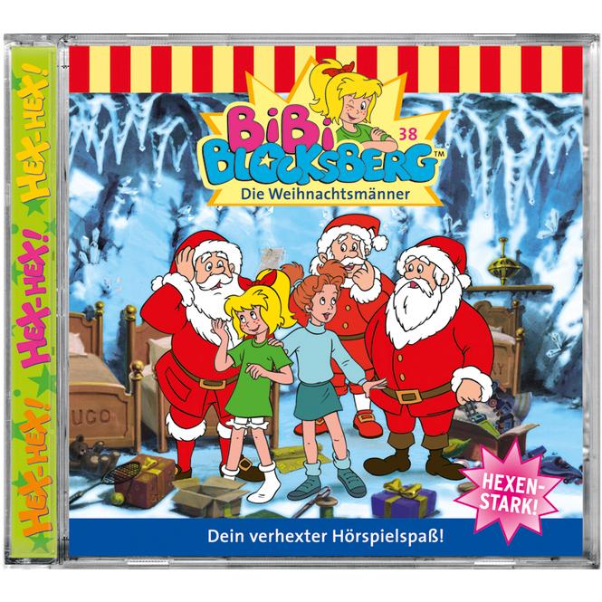 Bibi Blocksberg - Hörspiel CD - Folge 38 - Die Weihnachtsmänner