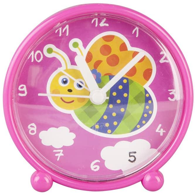 Wecker - für Kinder - 9,5 x 4 x 9,5 cm - verschiedene Designs