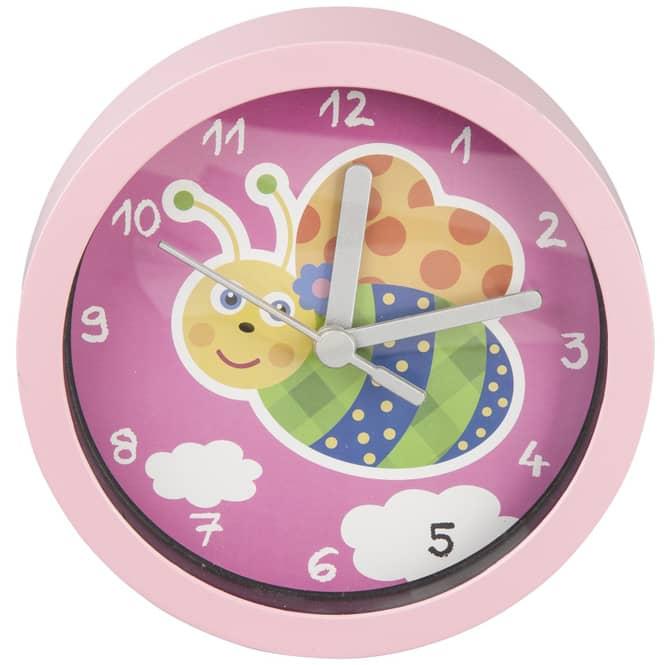 Wanduhr - für Kinder - Ø = 15,5 cm - verschiedene Designs