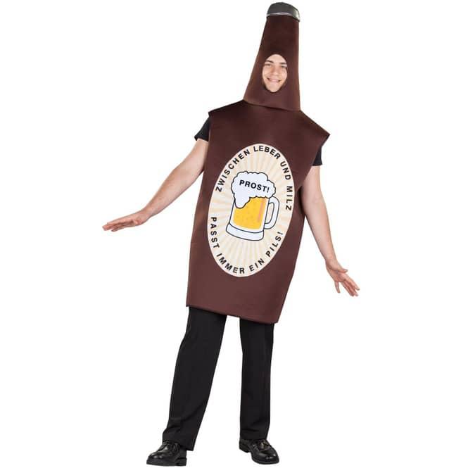 Kostüm - Bierflasche - für Erwachsene