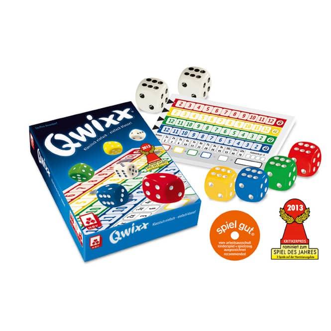 Qwixx - Würfelspiel - Nürnberger Spielkarten