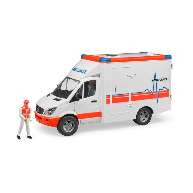 BRUDER 2536 Rettungswagen Sprinter