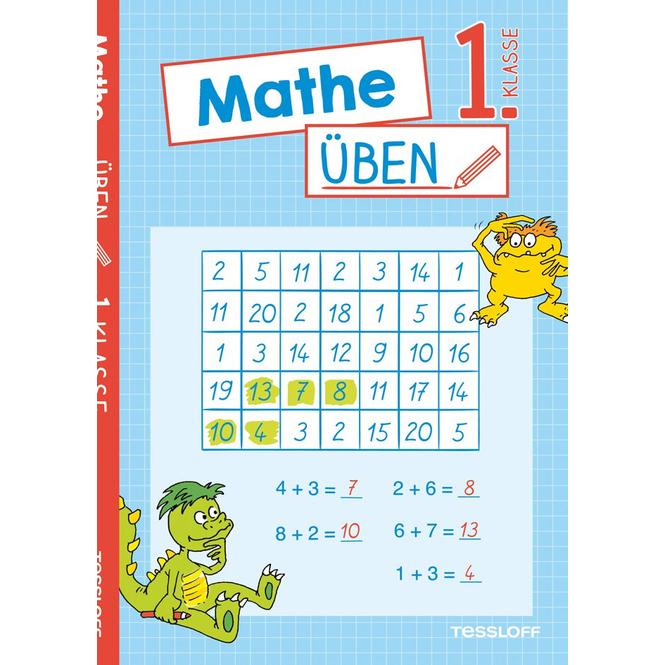 Mathe üben - 1. Klasse