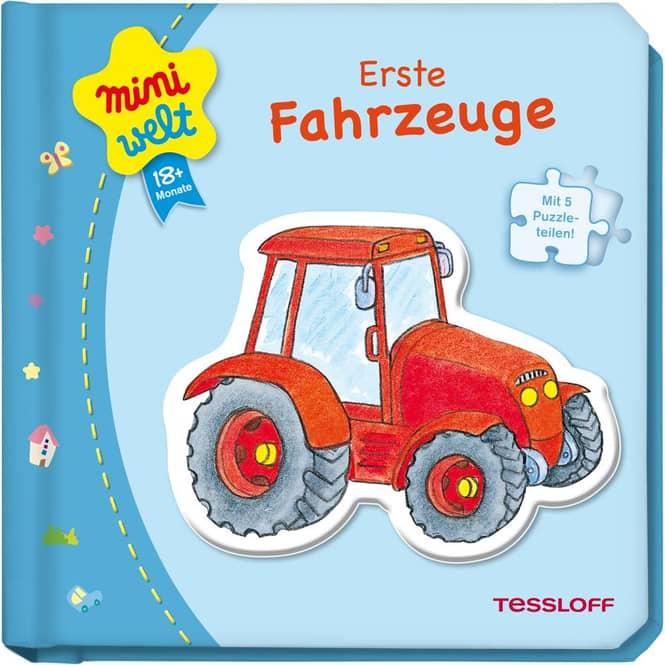 Mini Welt - Kleines Puzzlebuch - ab 18 Monate
