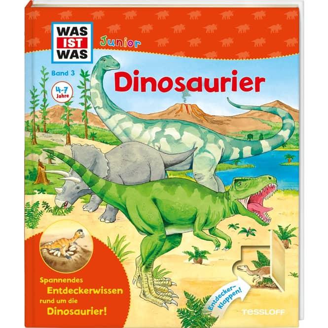Was ist Was - Junior - Dinosaurier - Band 3