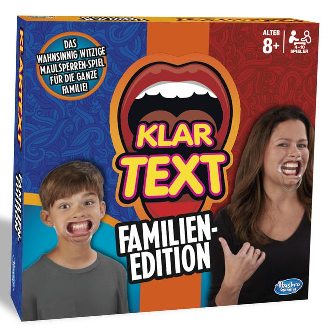 Klartext Familien-Edition - Hasbro