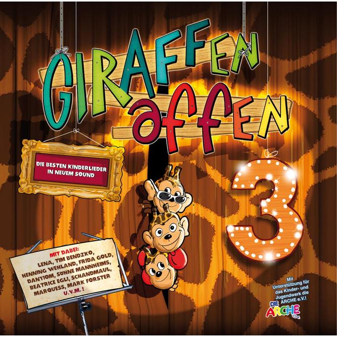 Giraffenaffen - Musik CD - Folge 3