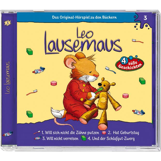 Leo Lausemaus - Hörspiel CD - Folge 3 - 4 süße Geschichten