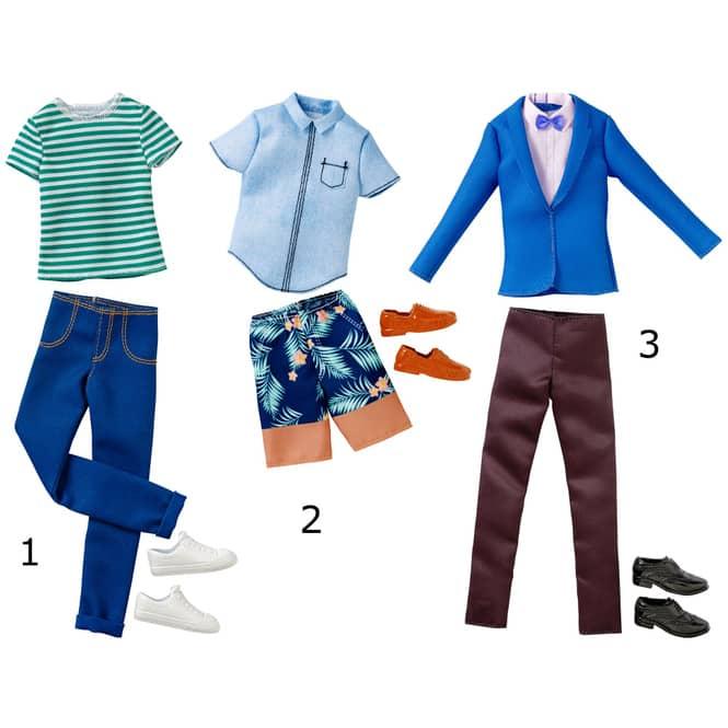 Ken Mode - Kleider für männliche Modepuppe