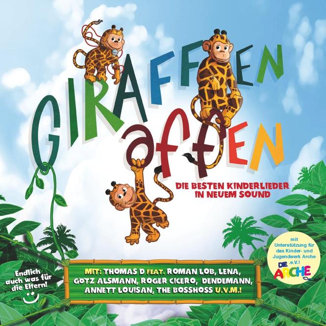 Giraffenaffen - Musik CD - Folge 1