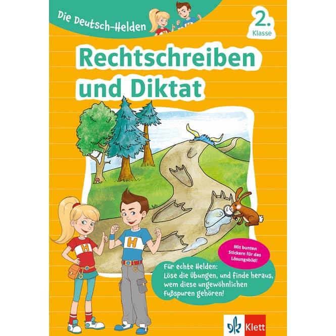 Die Deutsch-Helden 2. Klasse - Rechtschreiben und Diktat
