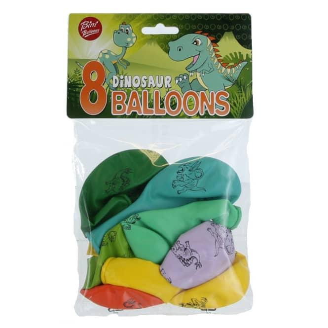 Luftballons - Dinosaurier - 8 Stück