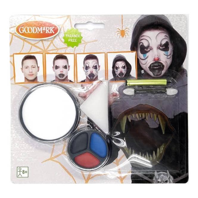 Schminkset - Screaming Demon - Make-up mit Zubehör
