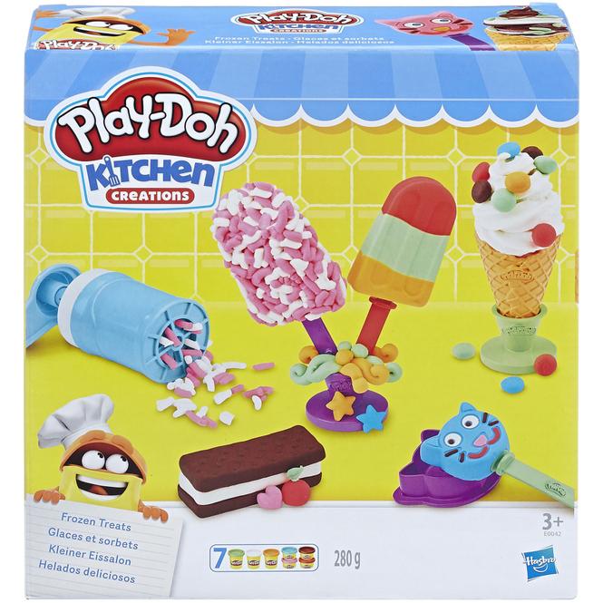 Play-Doh Kitchen - Kleiner Eissalon - Knetset