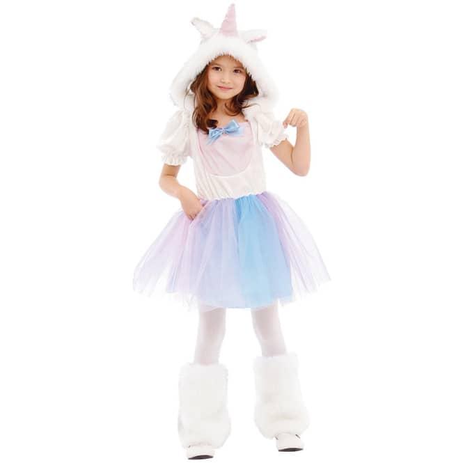Kostüm - Kleines Einhorn - für Kinder - 2-teilig - Größe 134/140