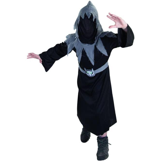Kostüm - Dämon - für Kinder - 2-teilig - Größe 134/140