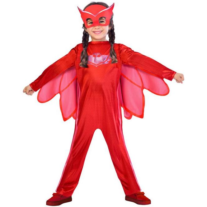 Kostüm - PJ Masks Eulette - für Kinder - 2-teilig - verschiedene Größen