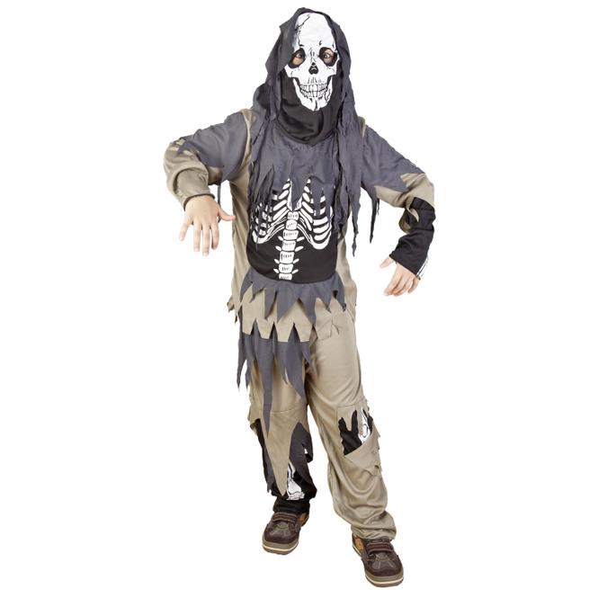 Kostüm - Skelett, für Kinder - 3-teilig