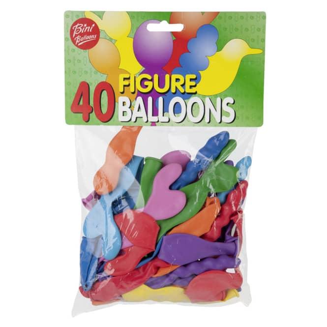 Luftballons - Figuren - 40 Stück
